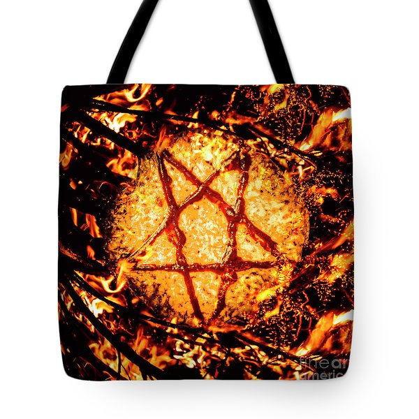 Pizzagate Inferno Tote Bag