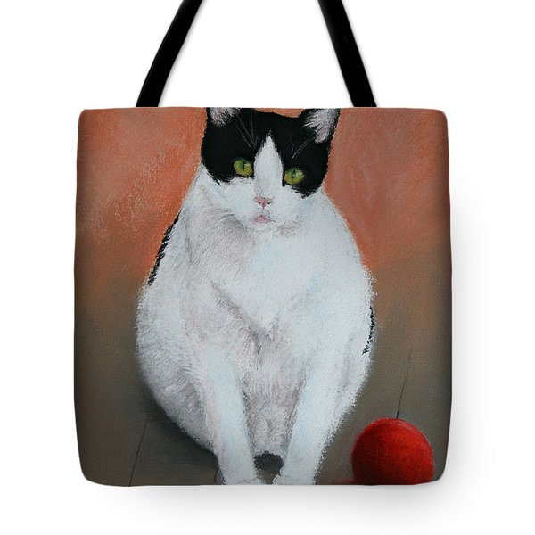 Pj And The Ball Tote Bag