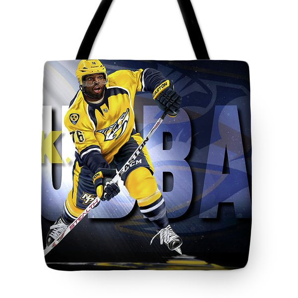 Tote Bag featuring the photograph Pk Subban by Don Olea