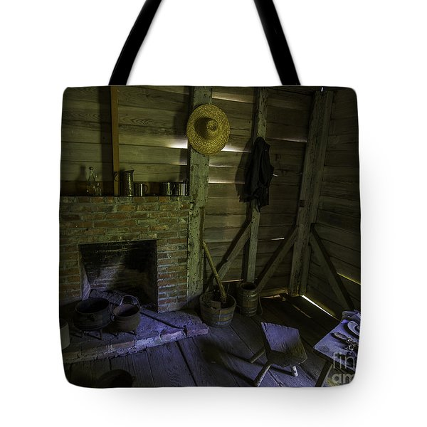 Place By The Fireplace Tote Bag