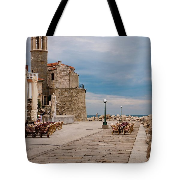 Place By The Sea Tote Bag by Rae Tucker