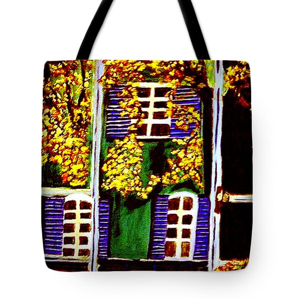 Place De La Paix Tote Bag