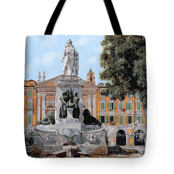 Place Garibaldi In Nice  Tote Bag