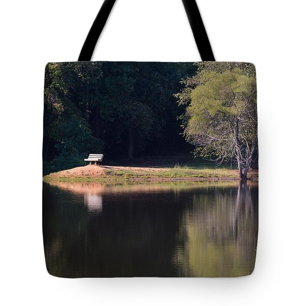 Place Of Reflection Tote Bag
