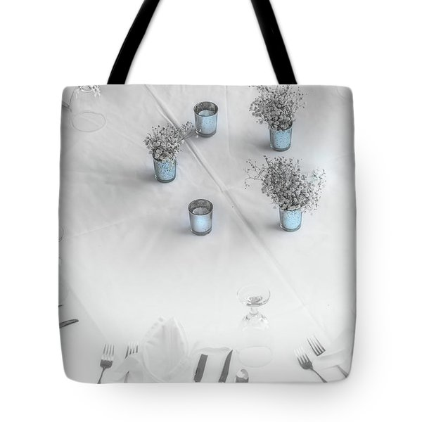 Place Settings Tote Bag
