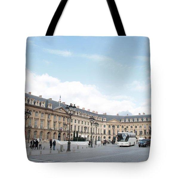 Place Vendome Tote Bag