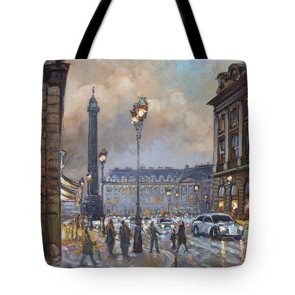 Place Vendome, Paris Tote Bag