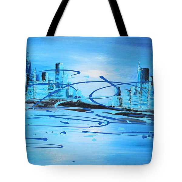Placed Under The Moon Light Tote Bag