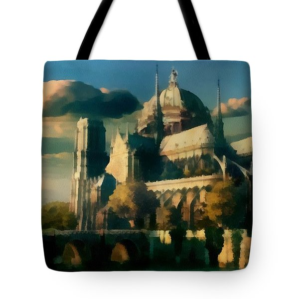 Places Angels Dwell Painted In Bleak Tote Bag