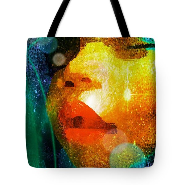Placid Tote Bag by Iowan Stone-Flowers
