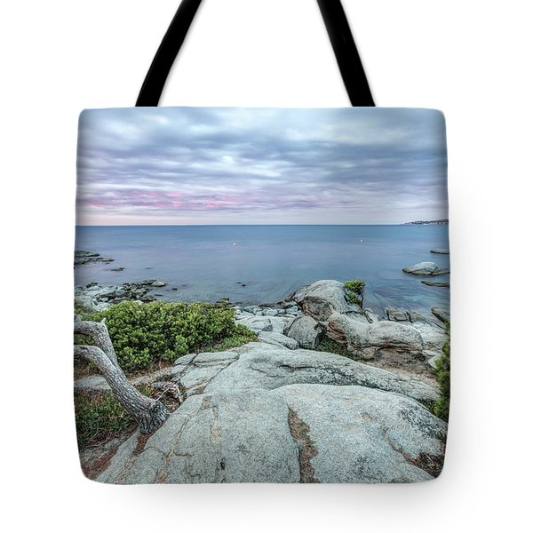 Plain Rocks Cove, Sant Antoni De Calonge Tote Bag