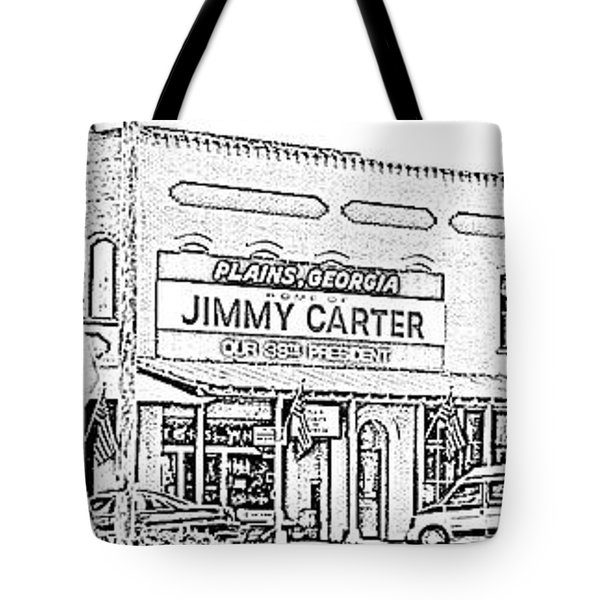 Plains Ga Downtown Tote Bag