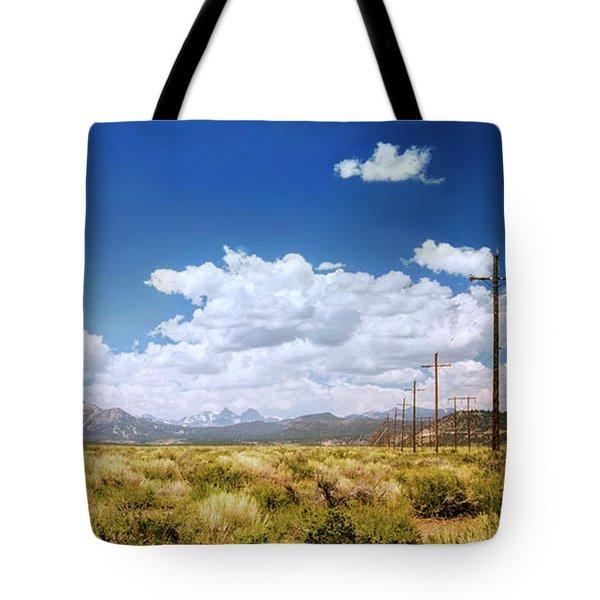 Plains Of The Sierras Tote Bag
