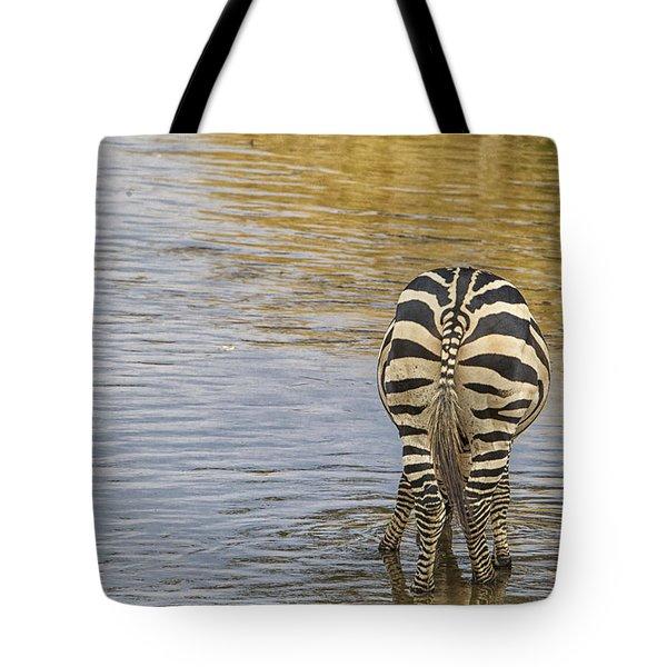 Plains Zebra Tote Bag