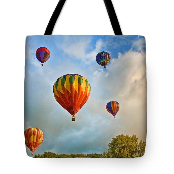 Plainville Balloons 2 Tote Bag