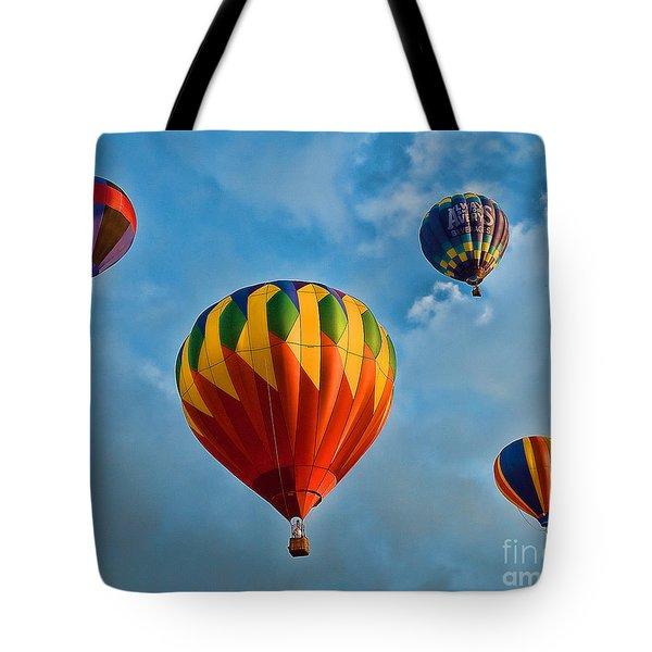 Plainville Balloons 3 Tote Bag