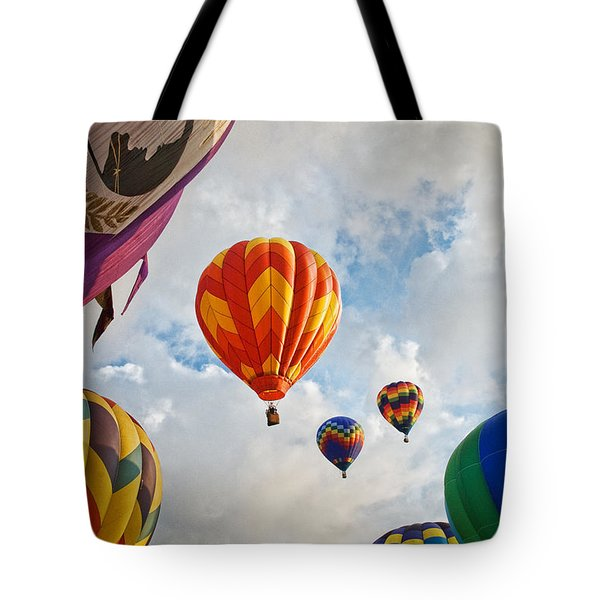 Plainville Balloons Tote Bag