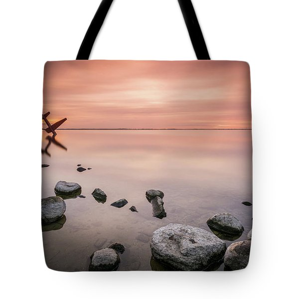 Plane And Colors Tote Bag