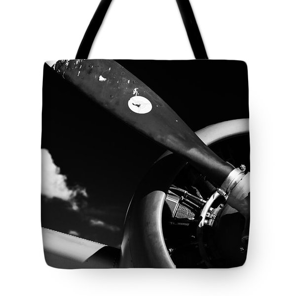 Tote Bag featuring the photograph Plane Portrait 1 by Ryan Weddle