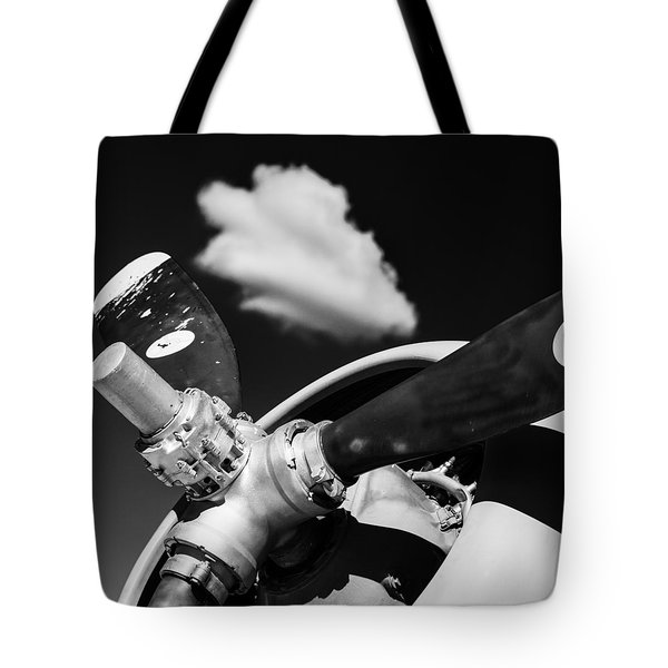 Tote Bag featuring the photograph Plane Portrait 2 by Ryan Weddle