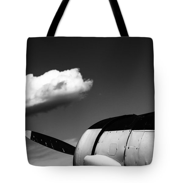 Tote Bag featuring the photograph Plane Portrait 3 by Ryan Weddle