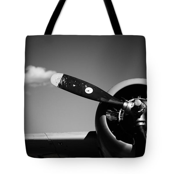 Tote Bag featuring the photograph Plane Portrait 4 by Ryan Weddle