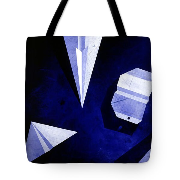 Planes On Blue Tote Bag