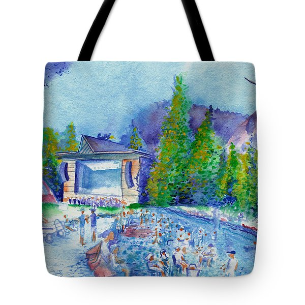 Planet Bluegrass Lyons Colorado Tote Bag