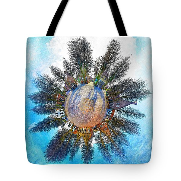 Planet Bourtange Tote Bag