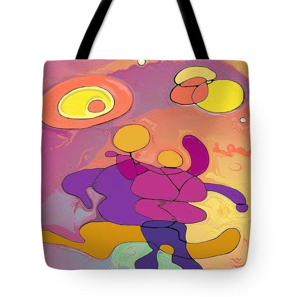 Planet Dancers Tote Bag