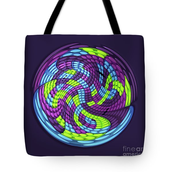 Planet Tote Bag by Efrat Fass