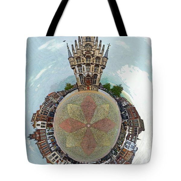 Planet Gouda Tote Bag