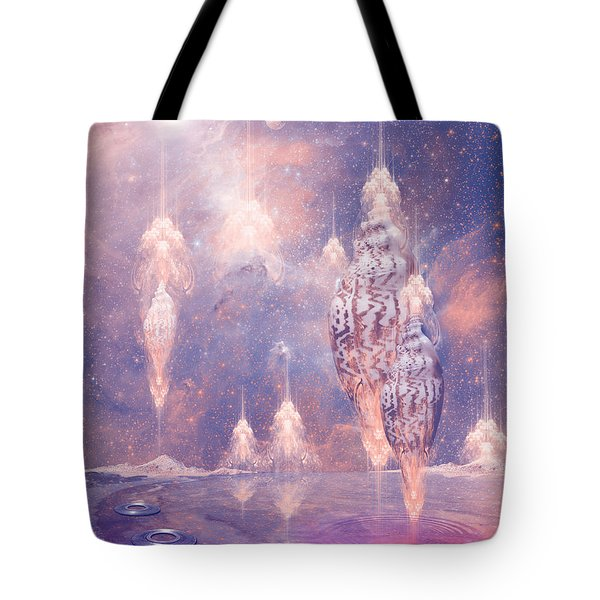 Shell City Tote Bag