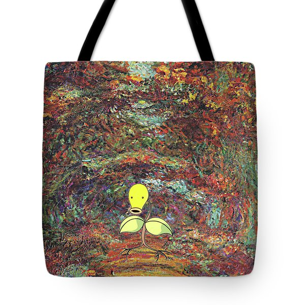 Tote Bag featuring the digital art Planet Pokemonet  by Greg Sharpe