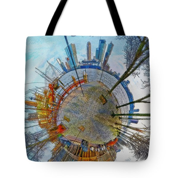 Planet Rotterdam Tote Bag