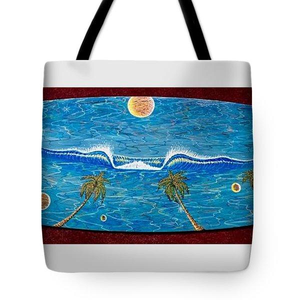 Planet Surf  Tote Bag