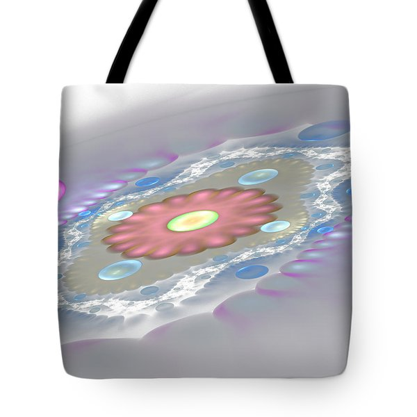 Planet Surface Tote Bag