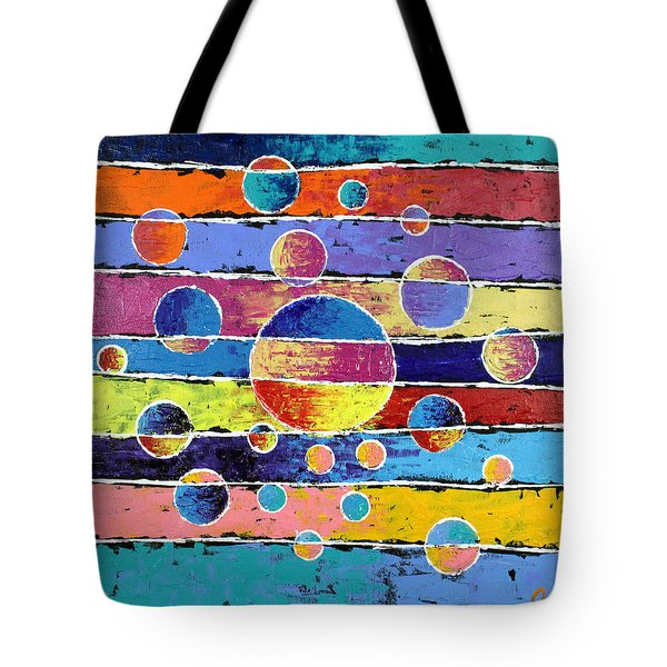 Planet System Tote Bag by Jeremy Aiyadurai