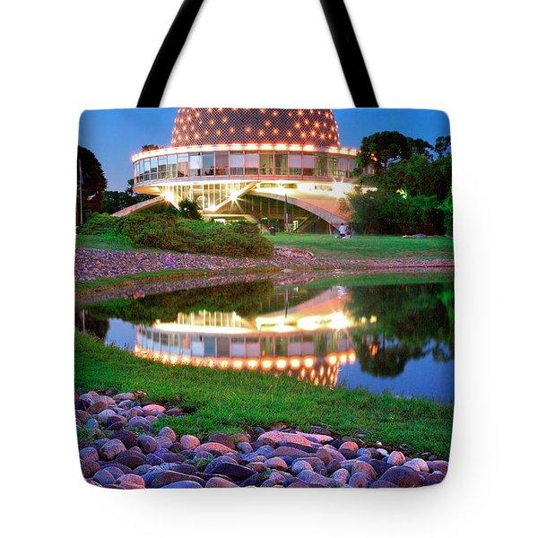 Planetario Tote Bag