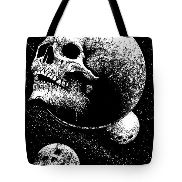 Planetary Decay Tote Bag