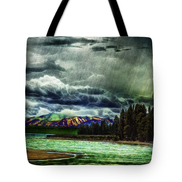 Planetary Infection Tote Bag