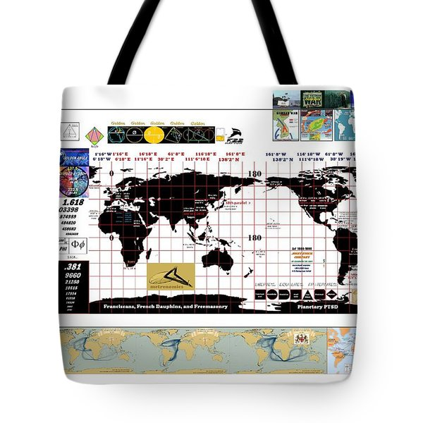 Planetary Ptsd Tote Bag by Peter Hedding