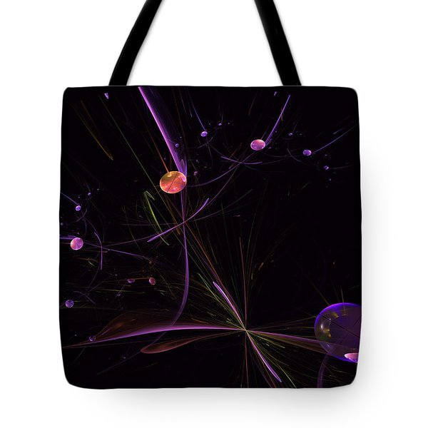Planets And Space Energies Tote Bag