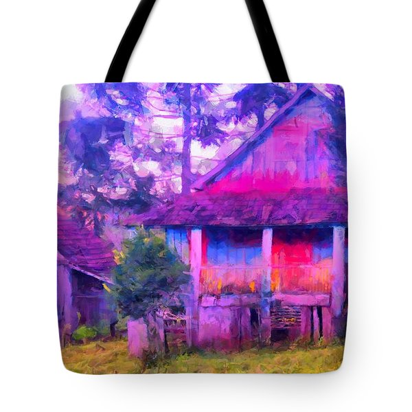 Plank Homes Tote Bag