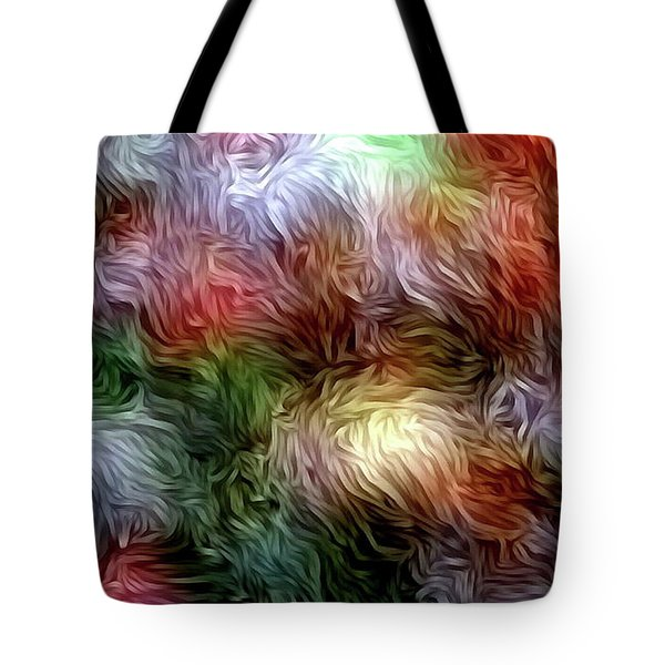 Plant Abstract Art Tote Bag by S Art