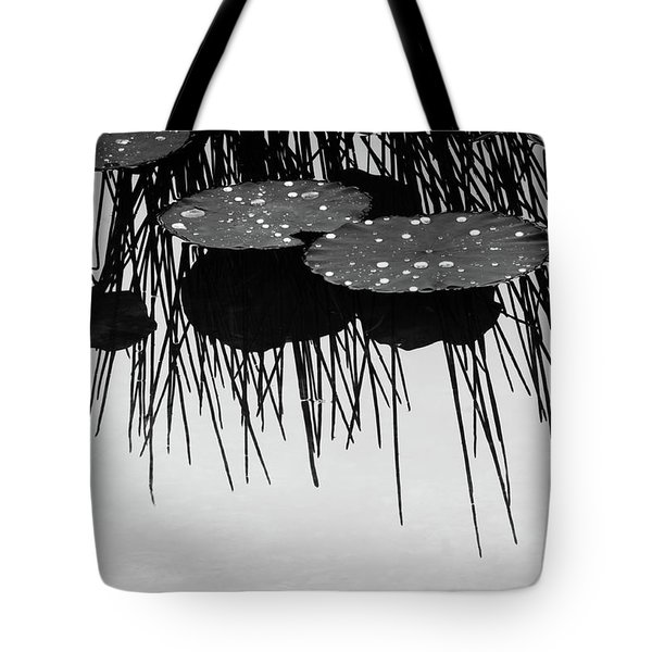 Plant Abstract Tote Bag by Carolyn Dalessandro