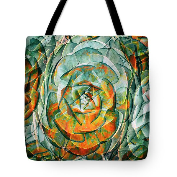 Tote Bag featuring the photograph Plant Abstract by Wayne Sherriff
