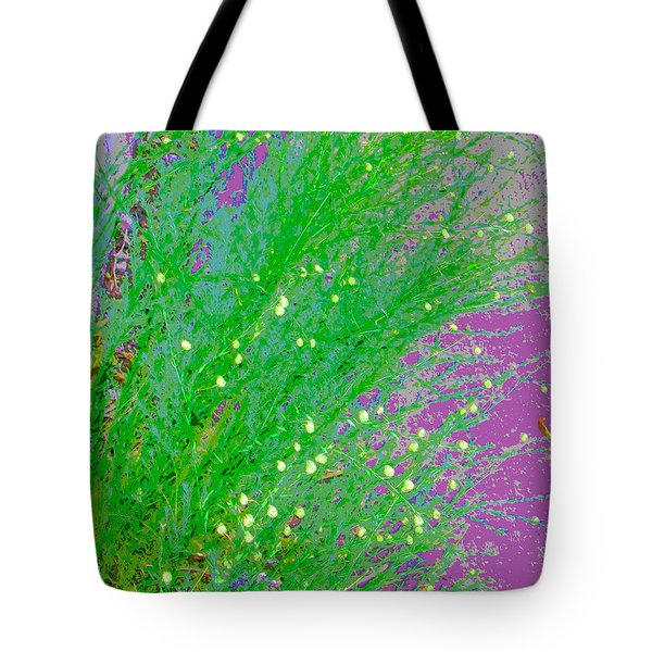 Tote Bag featuring the photograph Plant Design by Lenore Senior