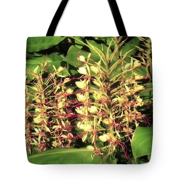 Plant Flowers Tote Bag