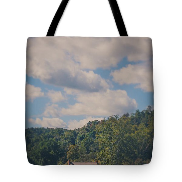 Tote Bag featuring the photograph Plantation House by Shane Holsclaw
